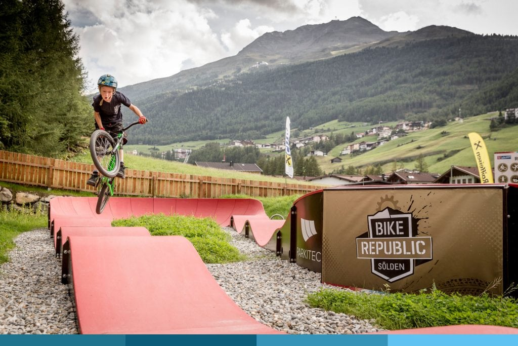 Pumptrack Sunny - Bike Republic Sölden © Ötztal Tourismus